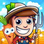 Download Idle Farming Empire + (unlimited coins) for Android